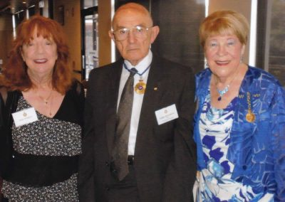 Hazel Mowatt, Geoff Kellerman & Val Harvey-Hamilton
