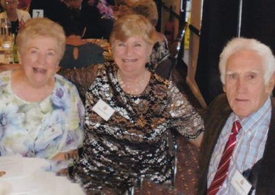 Joan Armitage with Chris & Bob Arnold
